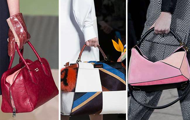 модные направления дизайна женских сумок