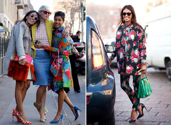 модные образы итальянок
