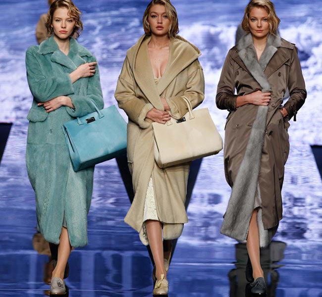 пальто-коканы от Max Mara