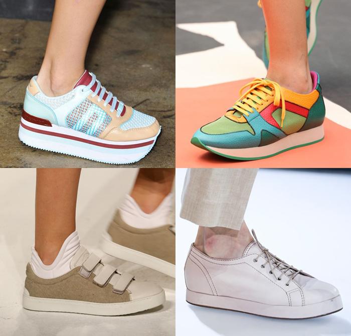 модная спортивная обувь