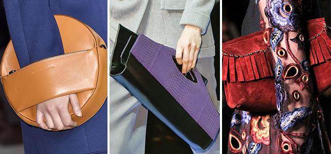 стильные сумки из модных материалов