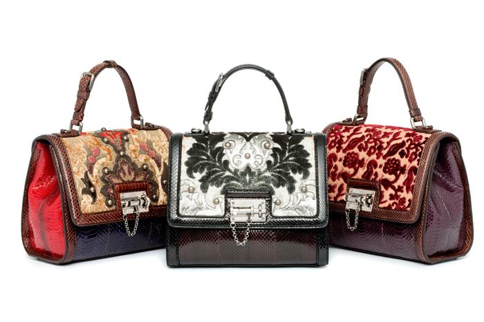 сумки Dolce & Gabbana из крокодиловой кожи