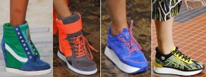 яркие цвета спортивной обуви сезона осень-зима 2015-2016
