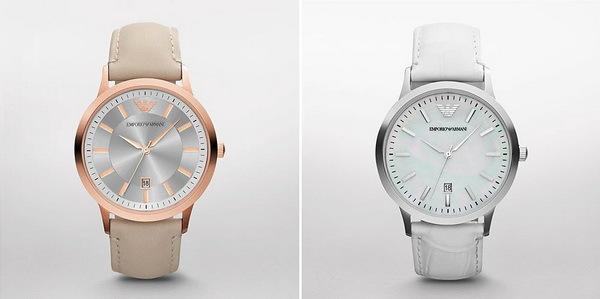 женские наручные часы бренда Armani