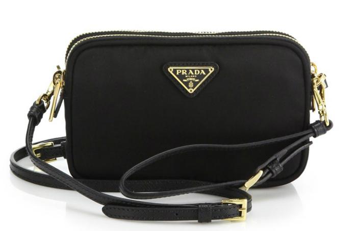 черная сумка Prada Nylon