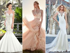 фото свадебных платьев со стразами