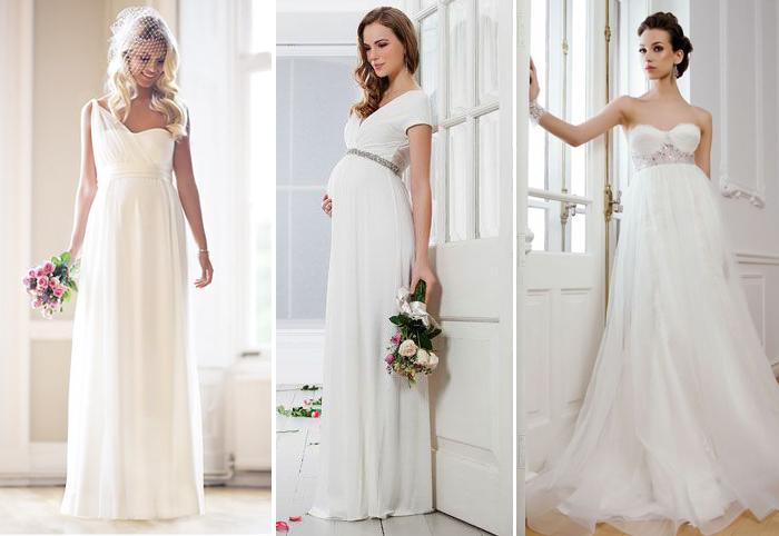 свадебные платья в греческом стиле для беременных девушек