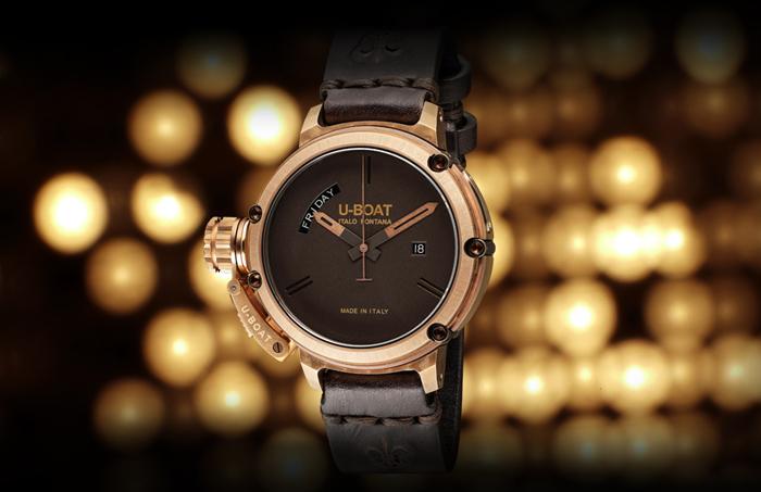 часы итальянского бренда U-BOAT