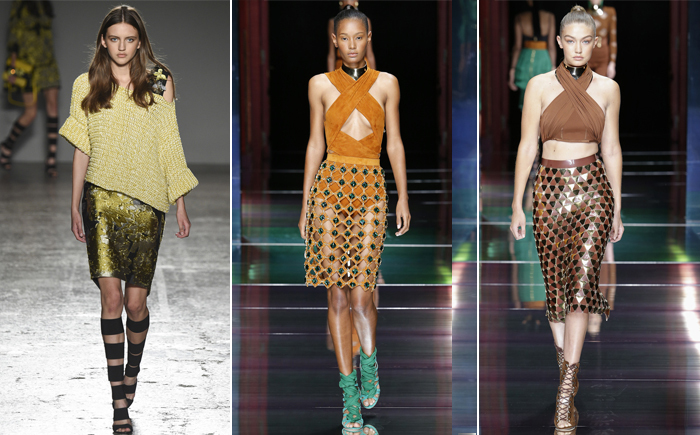 дизайнерские юбки сезона весна-лето 2016